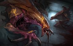 The next one in a batch of short Starcraft stories that I've illustrated has just been released (even if I did the painting at the end of 2011!) Check it out here: The Teacher Dr. Loew wants to tam...