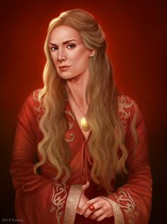 Game of thrones fan art - Cersei Lannister by ynorka.deviantart.com on @DeviantArt