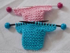 A small summer knitting project? These have brooch pins on the back.