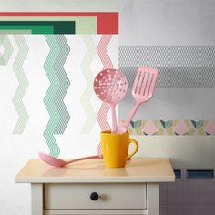 All the fruits da Bologna pattern per tessuti e carte da parati