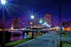Nueva Orleans, Estados Unidos, by Jim Nix #fotografíanocturna #darkness