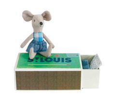 Mouse In Box - Boy - Purebaby