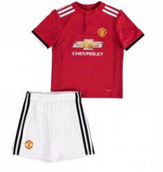 Kids Manchester United 2017-18 Season Home Manutd Kit [K214]