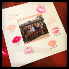 Bachelorette party! Kiss the miss goodbye!