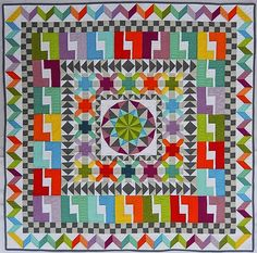 Quilting Mod: Blogger's Quilt Festival - Small Quilt Category