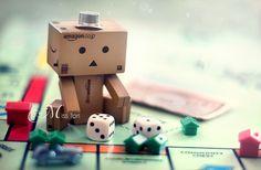 Danbo Learns Monopoly by Lady-Tori.deviantart.com