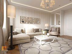 Фото дизайн гостиной из проекта «Гостиные»