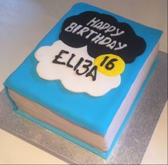The Fault in Our Stars Book Cake Like us on Facebook https://www.facebook.com/artyoucaneatcakes