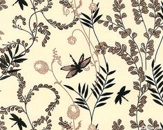 Dragonflies fabric for quilters