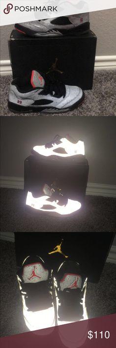 53fe46ae71e Shop Men's Jordan Silver Black size Sneakers at a discounted price at  Poshmark.