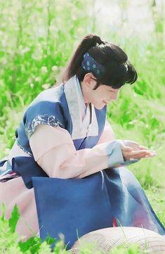 Baekhyun Fanart, Chanyeol, Exo Korean, Korean Drama, Baekhyun Moon Lovers, Moon Lovers Drama, Exo Anime, Kang Haneul, Exo Album