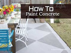 How To Paint Concrete For Spectacular Results