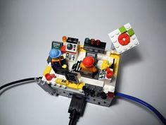 Brian Gillespie's wonderfully over-the-top Raspberry Pi case is a command centre built from Lego...