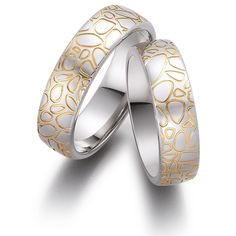 These superb wedding rings could go along nicely with leather shoes. Promise Rings For Couples, Couple Rings, Handmade Wedding Rings, Puzzle Ring, Personalized Rings, Infinity Symbol, Wedding Bands, Gold Rings, Rose Gold