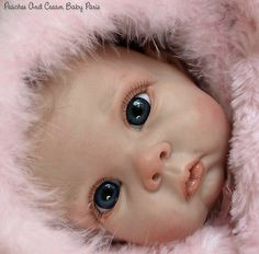 """New Reborn Baby Doll Kit Chrissy By Elly Knoops @20"""" @with Cloth Body"""