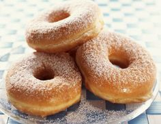 Boozy Beer Doughnuts | Surprise Dad this Father's Day with breakfast in bed.  Freshly made beer doughnuts are an irresistible treat that no one will be able to turn down.  They are baked instead of fried which yields a light (and not greasy) doughnuts.  Once out of the oven, they simply dusted with powdered sugar.  You can also dip them in glaze. - - Foodista.com