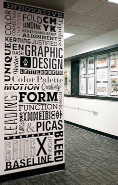 Typography Wall Art  from: http://jayce-o.blogspot.com