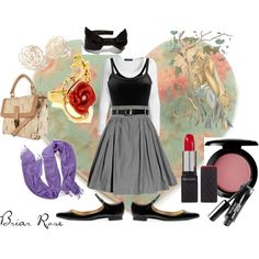Disney's Princess Aurora inspired outfit <3