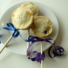 """Blueberry Pie Pops I """"These are so good! I made these with a nice butter-based crust, and it was the perfect balance of flaky crust, sweet filling, with a nice lemon/spice finish."""""""