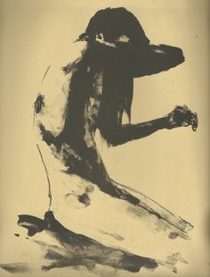 """Lost Boy"" by Tyler D Graffam; Lithograph 2013 Printmaking"