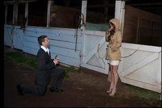 Perfect proposal around horses :) yup yup!