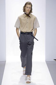 Margaret Howell Spring 2018 Ready-to-Wear Fashion Show Collection Fashion 2018, Fashion Week, Mens Fashion, Margaret Howell, Latest Mens Wear, Urban Cowboy, London Spring, Fashion Show Collection, Spring Summer 2018