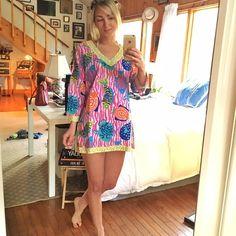13bbf833bdc Gretchen Scott Cotton Fish Tunic Light weight super cute cotton tunic