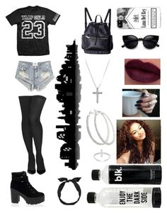 """Original. ⚫️"" by beautifully-outrageous ❤ liked on Polyvore"