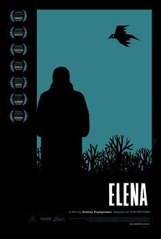 Something that looks really well made and I'm very keen to see it. Good reviews and awards so far. Elena by Andrey Zvyagintsev.