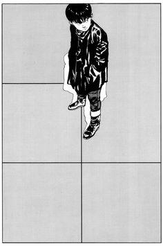 katsuhiro otomo Manga Art, Manga Anime, Anime Art, Cyberpunk, Akira Manga, Character Art, Character Design, Katsuhiro Otomo, Tokyo City