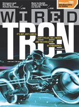 wired magazine main logo isn't seen as much as picture