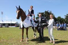 Le Challenge Biolight récompense Bertram Allen, meilleur cavalier du concours !