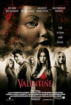 Scary Movie: Valentine (2001).  I'm pretty sure I watched this solely because David Boreanaz starred in it.