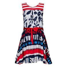 Chollo en Amazon España: Vestido Desigual Vest Busnela por solo 21€ (un 61% de descuento sobre el precio de venta recomendado y precio mínimo histórico)