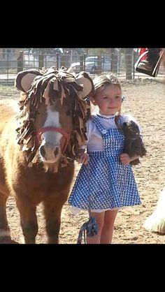 Cute!  Hmm, need a brown horse though.