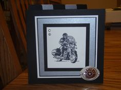Motorcycle Card by Luriko2 - Cards and Paper Crafts at Splitcoaststampers