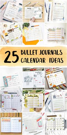 Minimalist Bullet Journal Monthly Calendar Examples Step By Step - Bullet Journals Ideas #digitalbulletjournal #cutebulletjournal #bulletjournalcalendar