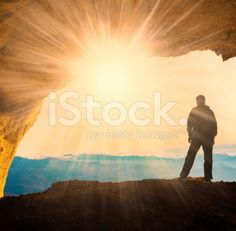 man  mainsails and caves royalty-free stock photo