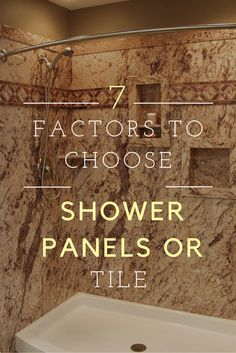 DIY Shower Wall Panels Can Have A Dramatic Look This Project Uses A - Discount shower wall panels