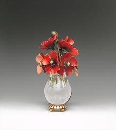 """House of Carl Fabergé. Imperial Anemones, probably 1899–1908. Russian. The Metropolitan Museum of Art, New York. (L.2011.66.49) 