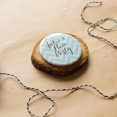 personalised chevron hen party badges by sincerely may | notonthehighstreet.com