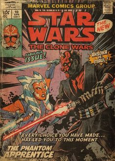 Star Wars is an American epic space opera franchise, created by George Lucas and centered around a film series that began with the eponymous Images Star Wars, Star Wars Pictures, Star Wars Clone Wars, Star Wars Art, Star Trek, Vintage Cartoon, Vintage Comics, Poster Retro, Star Wars Comics
