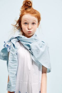 holding one's breath never looked so cute model: Hope Springer photo: Stefano Azario for GapKids
