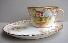 Royal patrician Pansy tea cup | ... Royal-Doulton-Burslem-Hand-painted-Pansy-TV-Tennis-cup-saucer-HIGH-TEA