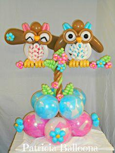 518th Balloon Sculpture, Owl Always Love You Bouquet