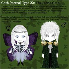 Goth Type 22: The Faerie Goth by ~Trellia on deviantART