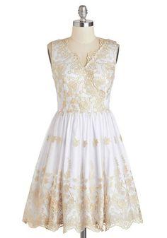 Champagne Toast To You Dress, #ModCloth