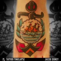 Jacob Doney, a California based tattoo artist and owner of Envision Tattoo