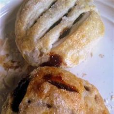"Eccles Cakes: The word ""Eccles"" means 'church'; it is assumed the town takes it's name after the old church built in 1111 AD.  Each year a service was held at the church to celebrate its construction, it was called Eccles Wakes.  Following the fair food and drink was served, including (so the story goes) Eccles Cakes.  These cakes were banned in 1650 AD due to the Puritan believe that they had pagan connections."