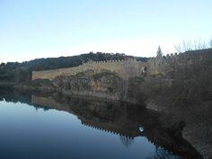 Rio Lozoya embalsado y Adarve Bajo